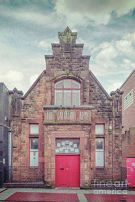 Photograph - Clydebank Salvation Army Hall by Antony McAulay