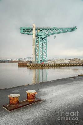 Photograph - Clydebank Titan Crane by Antony McAulay