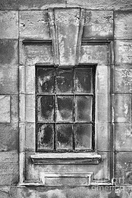 Photograph - Clydebank Town Hall Window by Antony McAulay