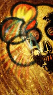 Key West Mixed Media - Clypso Headache Of Dead by Pat Carafa