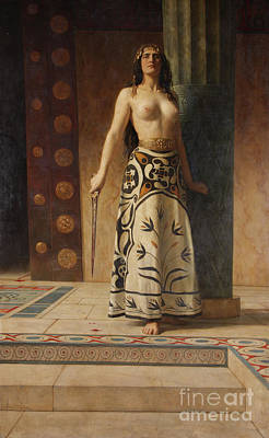 Collier Painting - Clytemnestra by John Collier