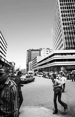 Photograph - Cms Bus-stop Broad Street I by Muyiwa OSIFUYE
