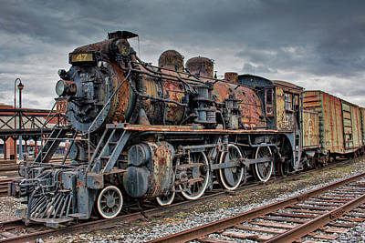 Photograph - Cn Locomotive 47 by Kristia Adams