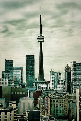 Digital Art - Cn Tower by JGracey Stinson