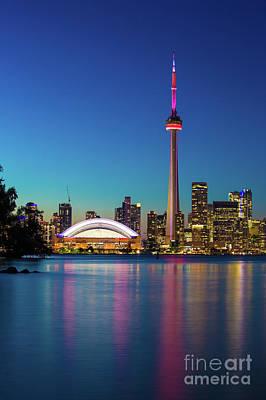 Photograph - Cn Tower Rogers Centre Toronto  by Mariusz Czajkowski