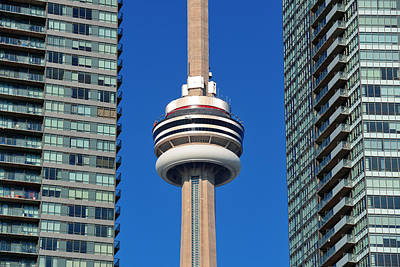Photograph - Cn Tower by Songquan Deng