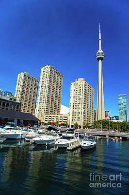 Photograph - Cn Tower  Toronto Marina Canada150 by Mariusz Czajkowski