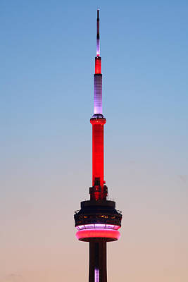 Photograph - Cn Tower Toronto by Songquan Deng