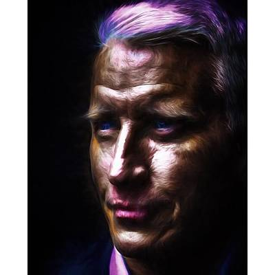 Model Photograph - #cnn @cnn #andersoncooper #vanderbuilt by David Haskett