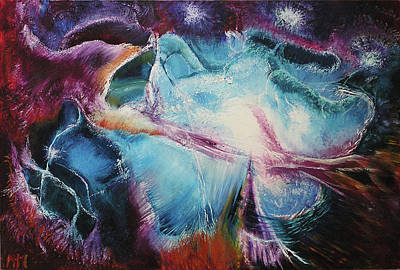 Stellular Painting - Cns 4 Stellular Shock Wave by Norm Mieczkowski