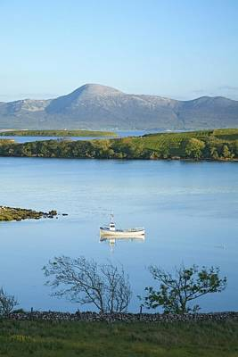 Photograph - Co Mayo, Ireland Fishing Boat In Clew by Gareth McCormack