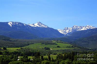 Photograph - Co Mountains by Afrodita Ellerman