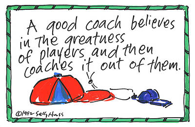 Painting - Coach by Sally Huss