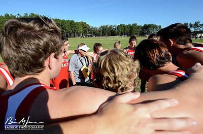 Photograph - Coaching by Brian Jones