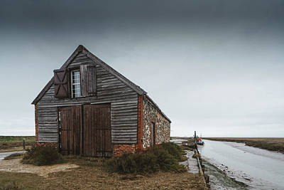 Photograph - Coal Barn by James Billings