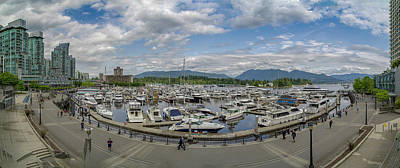 Photograph - Coal Harbour Panorama by Ross G Strachan