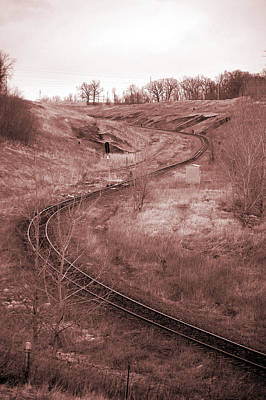 Photograph - Coal Line S by Jame Hayes