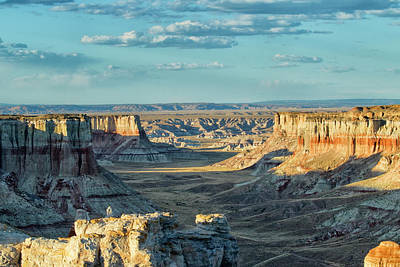 Photograph - Coal Mine Canyon by Tom Kelly