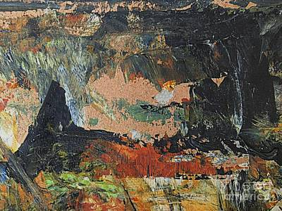 Tapestry - Textile - Coal Mountain by Nancy Kane Chapman
