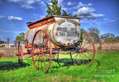 Photograph - Coal Oil Axle Grease by Savannah Gibbs