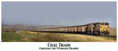 Photograph - Coal Train by John Meader