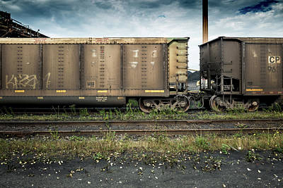 Photograph - Coal Train by M G Whittingham