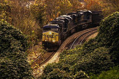 Photograph - Coal Train by Pete Federico