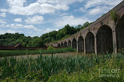 Coalbrookdale Photograph - Coalbrookdale Railway Viaduct by Mickey At Rawshutterbug