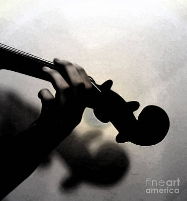 Violin Photograph - Coalescence  by Steven  Digman