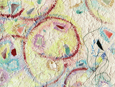 Mixed Media - Coalescing - 7 by Shoshanah Dubiner
