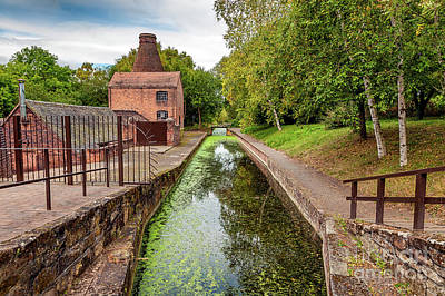 Photograph - Coalport Bottle Kiln  by Adrian Evans