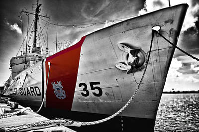 Coast Guard Art Print by Alessandro Giorgi Art Photography