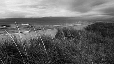 Photograph - Coast Guard Beach Cape Cod Bw by Bill Wakeley