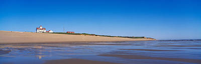 Red Roof Photograph - Coast Guard Beach Cape Cod National by Panoramic Images