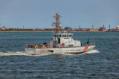 Photograph - Coast Guard Cutter Flyingfish by Brian MacLean