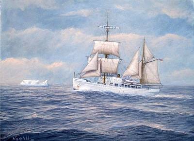 Coast Guard Cutter Northland Art Print by William H RaVell III