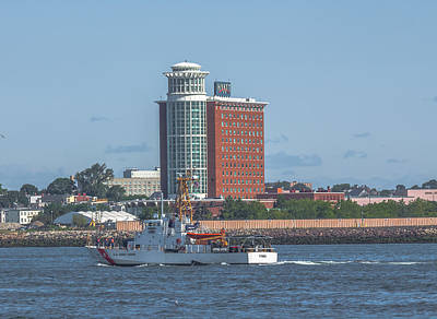 Photograph - Coast Guard Cutter Tybee by Brian MacLean