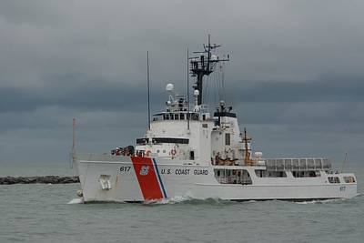 Photograph - Coast Guard Cutter Vigilant by Bradford Martin