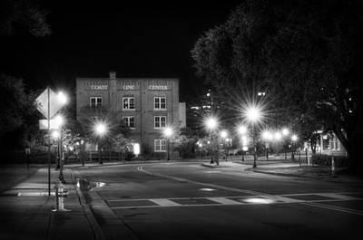 Crosswalk Photograph - Coast Line Center At Night by Greg Mimbs