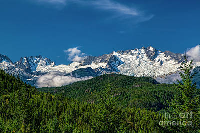Photograph - Coast Mountains by Jon Burch Photography