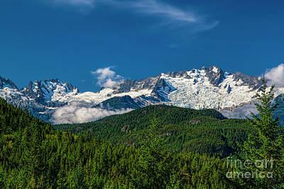 Photograph - Coast Mountains by Jon Burch Photography