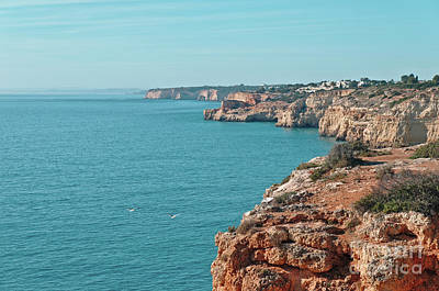 Photograph - Coast Of Carvoeiro In Algarve by Angelo DeVal