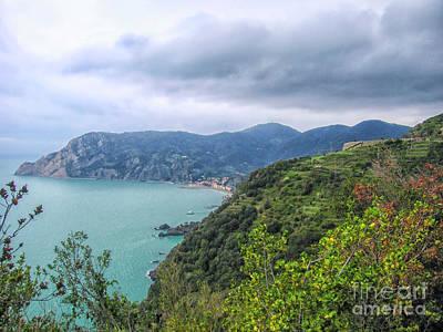 Photograph - Coast Of Cinque Terre, Italy by Patricia Hofmeester