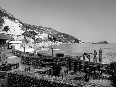Photograph - Coast Of Dubrovnik by Lance Sheridan-Peel