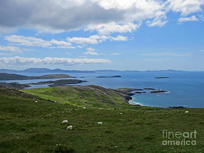 Photograph - Coast Of Ireland On Ring Of Kerry by Cindy Murphy - NightVisions