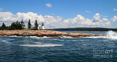 Photograph - Coast Of Maine  by Lennie Malvone