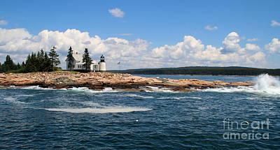 Photograph - Coast Of Maine  by Lennie Malvone