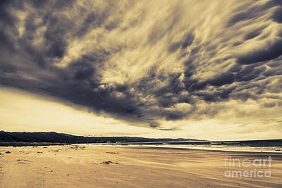 Turbulent Skies Photograph - Coast Of Marengo Victoria by Jorgo Photography - Wall Art Gallery