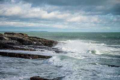 Photograph - Coast Off The Hook Lighthouse by Martina Fagan