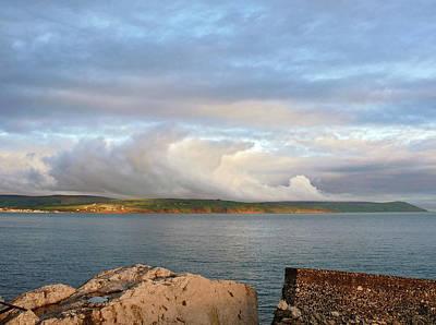 Photograph - Coast Road Cloudscape. by Colin Clarke